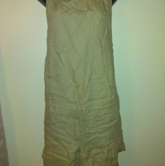 9dad3a20 Mossimo Supply Co. Shorts | Linen Draw String Romper | Poshmark